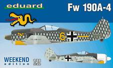 Eduard Plastic Kits 84121 - 1:48 Fw 190A-4, Weekend Edition - Neu