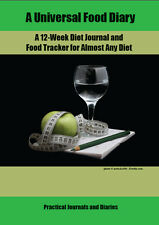 NEW Universal Food Diary12-Week Diet Journal & Food Tracker for Almost Any Diet