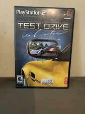 Test Drive Unlimited PS2 Game (Sony PlayStation 2, 2007) COMPLETE