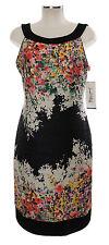 Joseph Ribkoff Kleid 42 (D) 14 bunt Blumen Polyester Stretchkleid dress robe neu