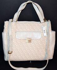 DKNY Crosby T&C W/Classic Lock Handbag Tote Bag  MSRP$375.00 NWT