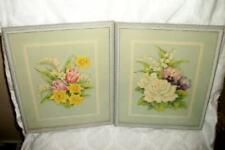 Antique Floral Prints Blue Frames Prints Great Colors Cottage Estate