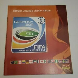 Panini FIFA Women's World Cup Germany 2011 Empty Album