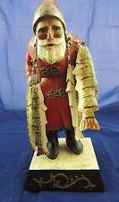 Leo R Smith Santa St N 00004000 ick Fisherman Fish Folk Art Statue Hand Signed