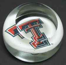 Dynasty Gallery GLASS PAPERWEIGHT Texas Tech 5558679