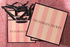 Victoria's Secret! nuevo! Regalo Fiesta Bolsas (3) + Caja (2) pequeño (juego de 5)