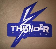 Wichita Thunder CHL ECHL Hockey Front Large Jersey Patch Crest
