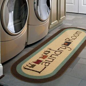 "Ottomanson LA4058O-2X5 Laundry Runner Rug 20"" X 59"" Brown Rug Home Decor"
