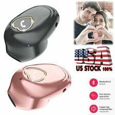 Mini Wireless Earphone Bluetooth Headset Handsfree Sports Earbud for Cell Phones