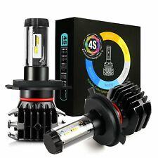JDM ASTAR 4S 72W 2x H4/9003/HB2 LED Headlight High Low Beam Offroad Bulbs White