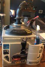 Thrustmaster Top Gun Fox 2 Pro USB Joystick Flight Simulator Very Good With Box
