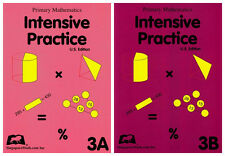 Singapore Math Primary Mathematics Intensive Practice 3A + 3B - FREE SHIPPING!!!