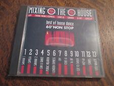 cd album mixing the house best of house dance 60' non stop