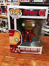 Pop Marvel Avengers 2 Iron Man Mark 43 66 Funko Pop Vinyl Expert Packaging