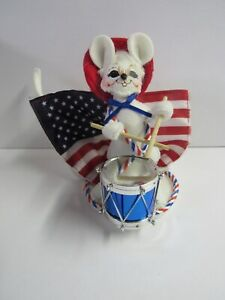 New Annalee 4th Of July Patriotic Drummer Mouse 250110