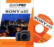 QUICKPro Training DVD Sony A65 - >NEW< Free US Shipping