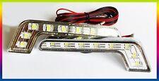 DRL SILVER UNIVERSAL MERCEDES STYLE XENON SUPER BRIGHT E4 RL00 0087 F MERCEDES 4