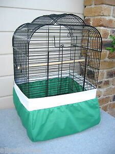 """Bird Cage Tidy """"FULL COVER UNDER CAGE"""" Seed Catcher - SMALL 155 to 198cm"""
