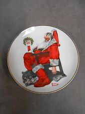 """Norman Rockwell Christmas Xmas """"The Day After Christmas"""" Special Plate (A4)"""
