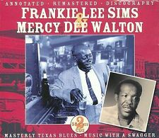 Texas Blues * by Frankie Lee Sims (CD, Jun-2009, 2 Discs, JSP (UK))