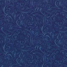 Moda Classics Quilting Fabric - Tooled Leather #12 Denim