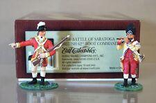BRITAINS 17350 AMÉRICAIN RÉVOLUTION Bataille de SARATOGA BRITANNIQUE 62nd PIED