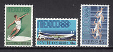 CYPRUS 1968 MEXICO OLYMPIC GAMES MNH