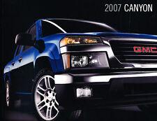 2007 GMC Canyon Truck 30-page Original Dealer Sales Brochure Catalog