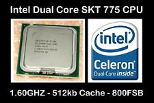 INTEL SLAQW Socket LGA 775 Dual-Core Processor 1.60GHZ / 800FSB / 512kb Cache