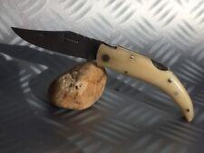 Couteau de poche CORSE Berger Corsica avec manche en os de buffle domestiqué
