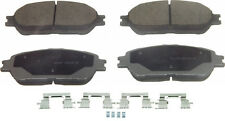 Advance QC906A Disc Brake Pad - ThermoQuiet, Front