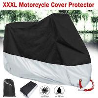 XXXL WATERPROOF MOTORCYCLE COVER OUTDOOR PROTECT RAIN DUST UV MOTORBIKE