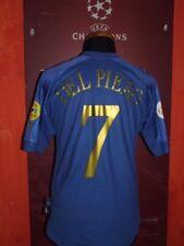 DEL PIERO ITALIA ITALY SHIRT EURO 2004 MAGLIA CALCIO FOOTBALL SOCCER MAILLOT