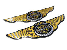Harley 2003 110th Anniversary Gas Fuel Tank Emblems Badges emblems Monogram