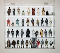 """Collectors Showcase - Premium Display Case for 3-3/4"""" Star Wars Figures - T3MS"""