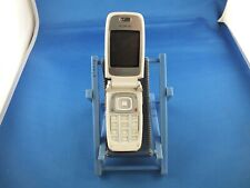 Nokia 6101 White Silver Phone without: Battery, Battery Cover, Charger Antenna Keyboard