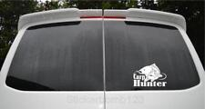 "CARP HUNTER pike fishing angler rod spinning  coarse fishing car sticker 8"" x 6"""