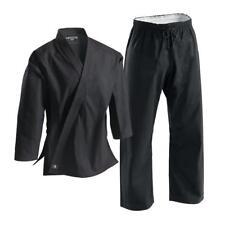 Century Black 10oz. Heavyweight Brushed Cotton Uniform Size 6