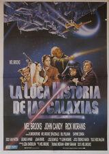 La loca historia de las galaxias -- Cartel de Cine Original --