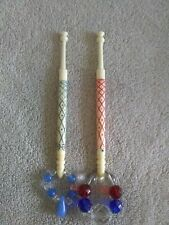 Pair Of Bone Lace Bobbins By Archer.
