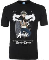 *Legit* Black Clover Asta Black Bull Squads Logo Authentic Anime T-Shirt #25364