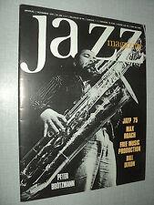 JAZZ  MAGAZINE 238 (11/75) PETER BROTZMANN MAX ROACH BILL DIXON JIMMIE NOONE