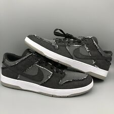 online store 0fa14 65b63 Nike SB Dunk Low Elite QS Medicom Bearbrick Size 12 Black Denim 877063-002
