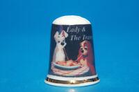 "Disney ""Lady and the Tramp"" China Thimble B/94"