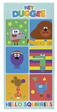 Hey Duggee Hello Squirrels' Towel, Cotton, Multi-Colour, 70 x  140 cm