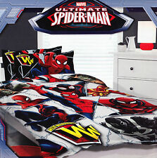 Boys Kids Boys Marvel SPIDER-MAN SINGLE Quilt/ Duvet Cover Set BNIP