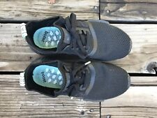 Adidas Boost Primeknit Women's NMD R1 Shoes Black Mint Glow AQ1102 Tiffany's