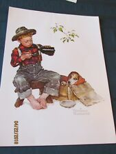 Norman Rockwell Spring - Lot of 15 Prints (1958) Free Shipping