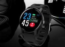 Waterproof Sport SmartWatch Blood Pressure Heart Rate Monitor for iOS&Android