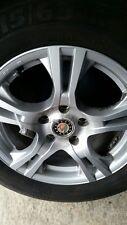 4× Alufelgen Platin mit Winterreifen 215/65 R 16 H Semperit Nissan Qashqai
